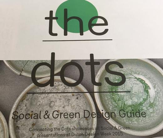 connecting the dots, social & green guide, Dutch Design Week, echter ontwerp, Willemieke van den Brink