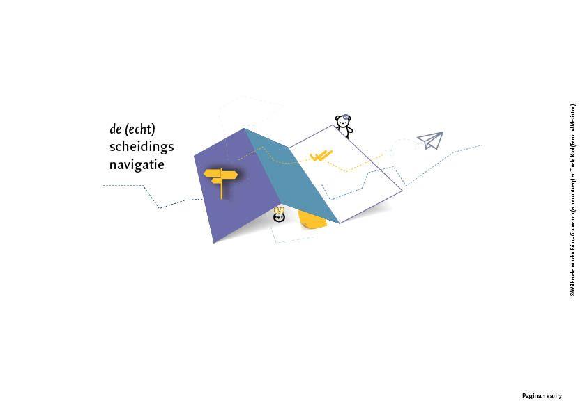 (echt)scheidingsnavigatie Willemieke van den Brink echter ontwerp Tineke Kool