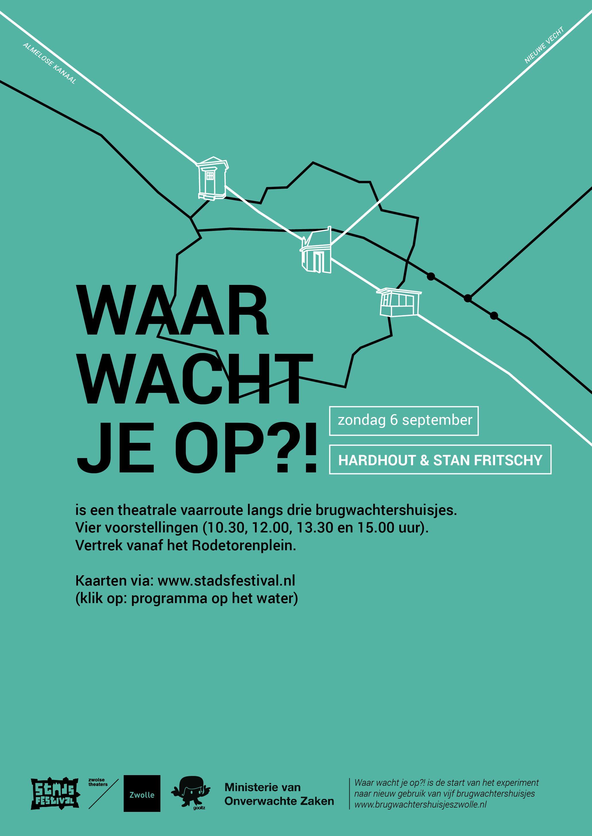 Echter ontwerp, Willemieke van den Brink, Gooitske Zijlstra, Anne Marth Kuilder, Waar wacht je op, Zwolle