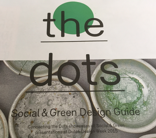 connecting the dots, social & green guide, Dutch Design Week, echter ontwerp, Willemieke van den Brink