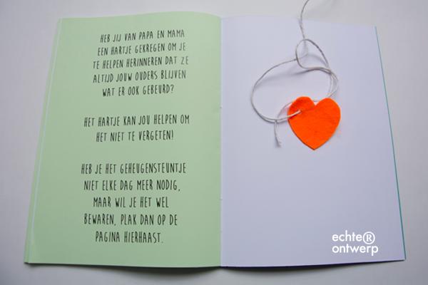 Invulboekje voor kinderen van 6 - 12 jaar tijdens scheiding van ouders