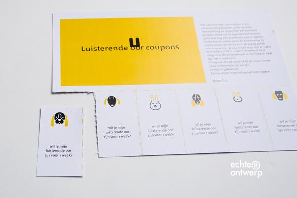 luisterende oor coupons voor volwassenen
