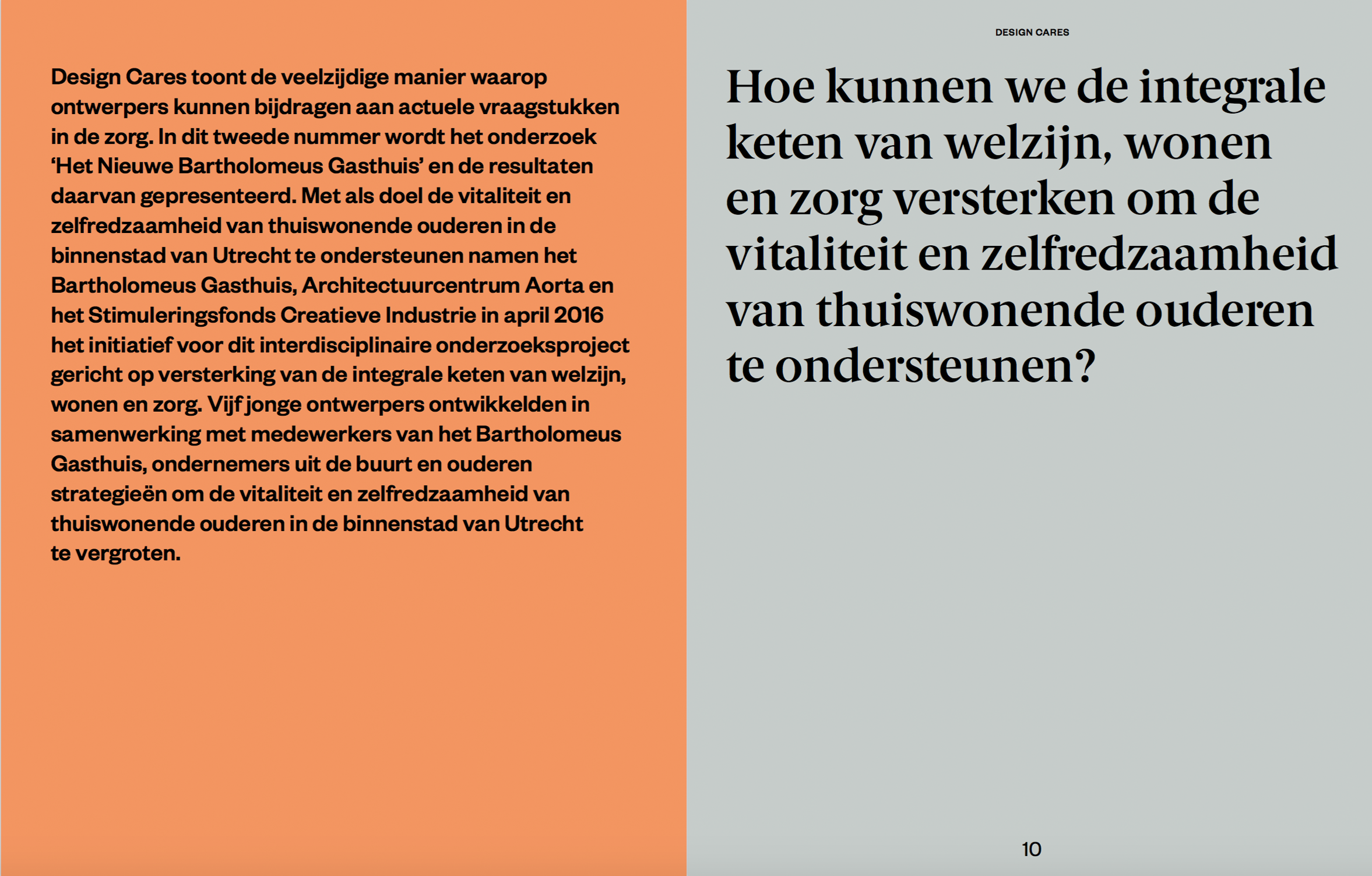 publicatie design cares
