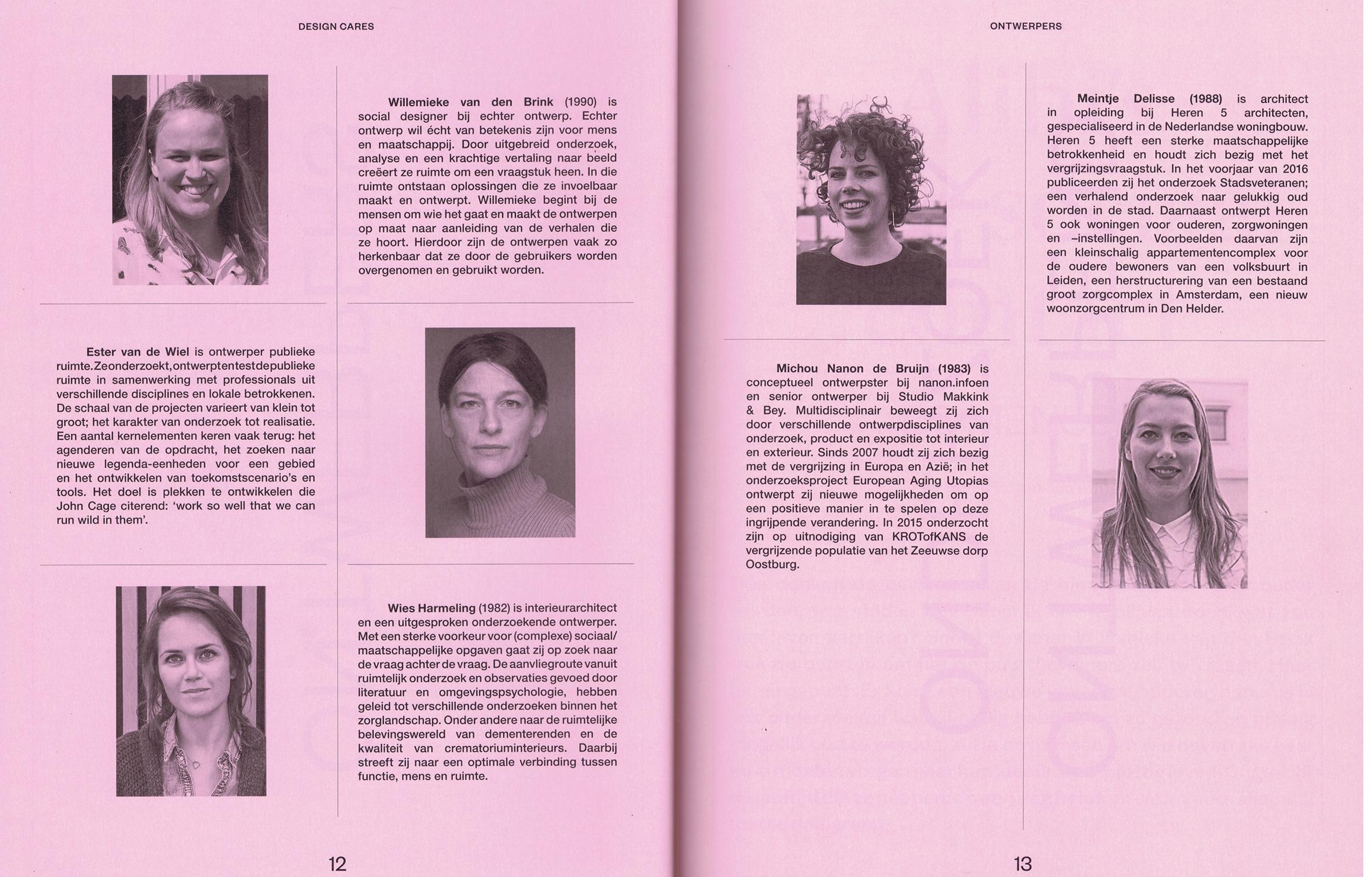 publicatie design cares echter ontwerp willemieke van den brink