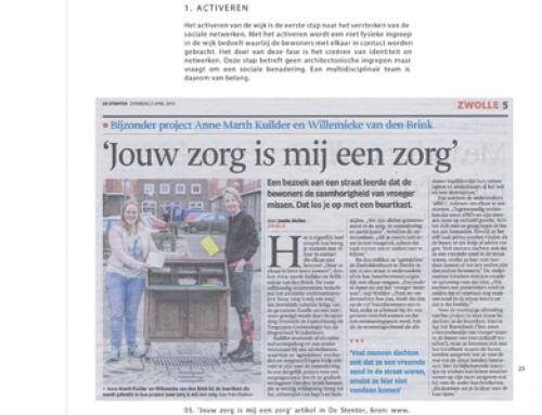 """Jouw zorg is mij een zorg in """"Research Gasthuis van Welzijn"""""""