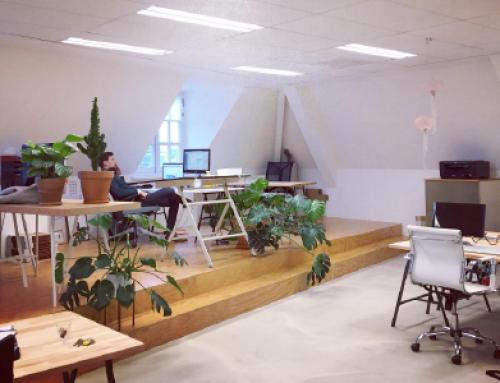 Een nieuwe werkplek, langs de Koppel in Amersfoort