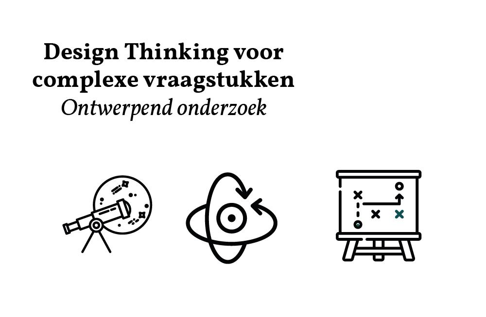 Design Thinking voor complexe vraagstukken | Ontwerpend onderzoek