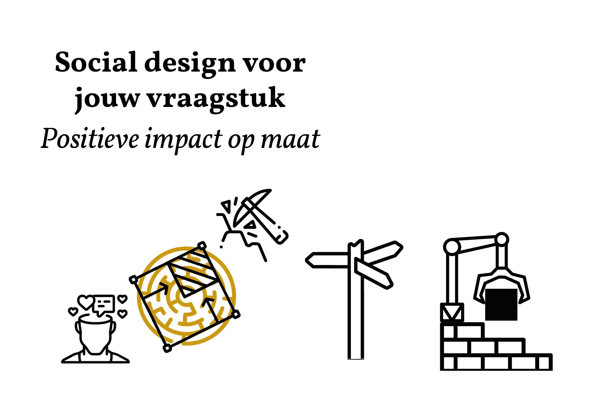 Social design voor jouw vraagstuk Positieve impact op maat